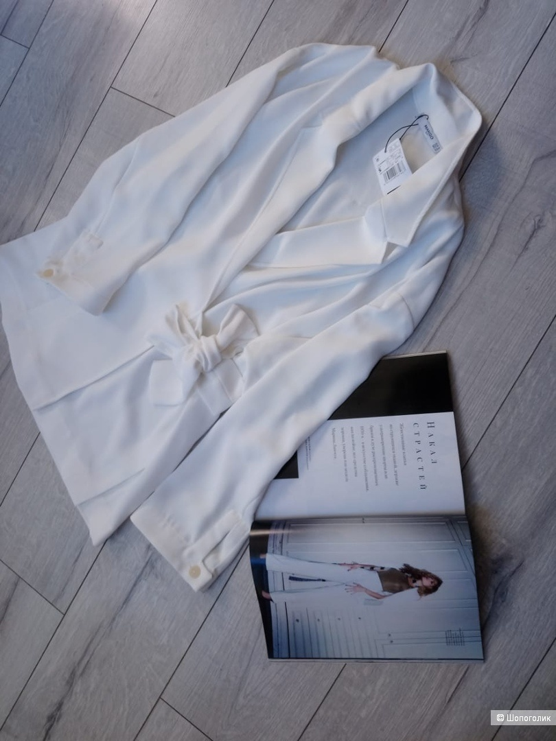 Пиджак c бантом mango, размер S/M