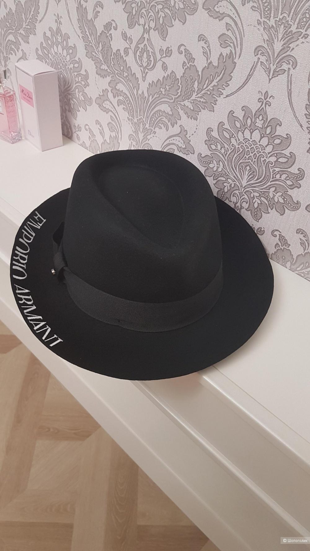 Шляпа Emporio Armani, 58 размер