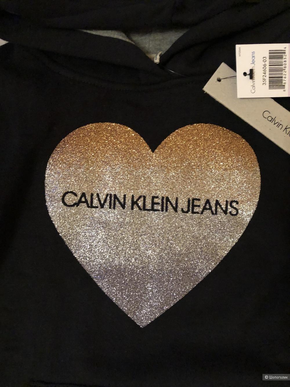 Худи Calvin Klein размер 6 лет