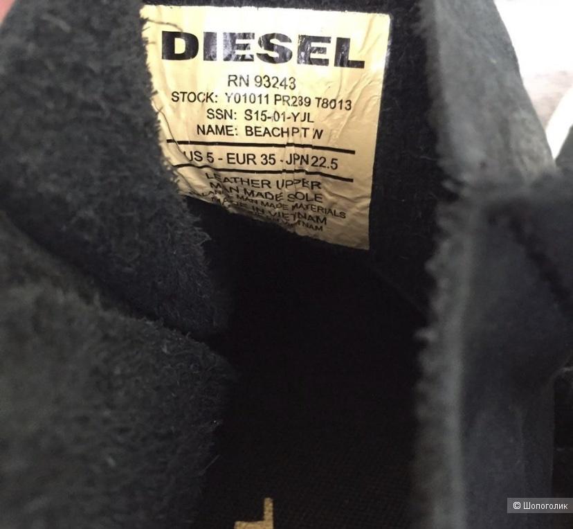 Кеды Diesel, pp 35, 22 cm