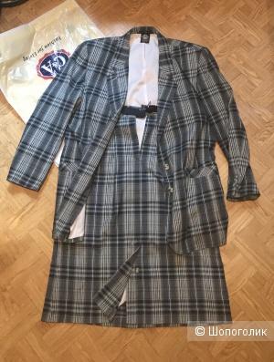 Костюм пиджак и юбка,C&A(46р)