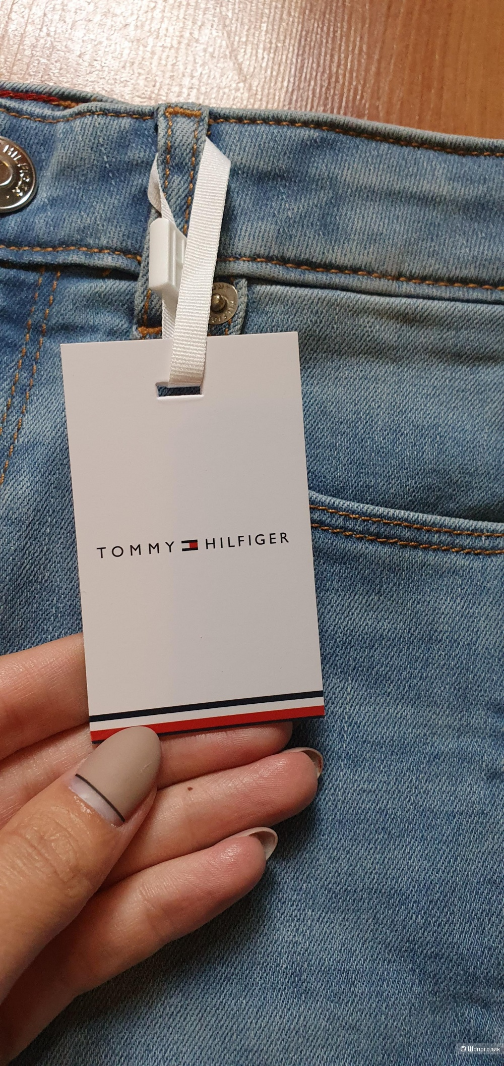Джинсы Tommy Hilfiger размер 122