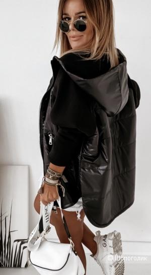 Куртка парка комбинированная LUCKY, 50-58
