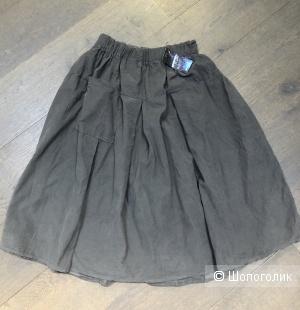 Юбка вельветовая с карманом ITALY MODA, one size