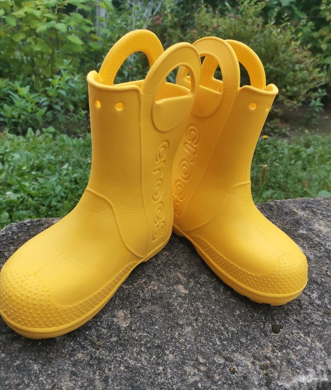 Сапоги Crocs. Размер 30/С13