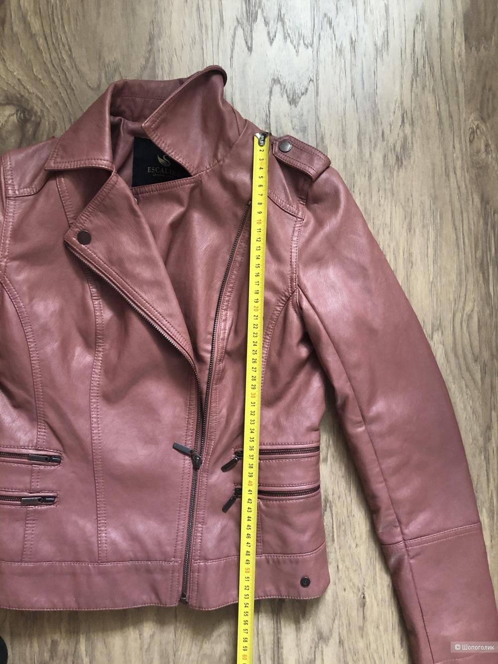 Куртка кожзам, размер S