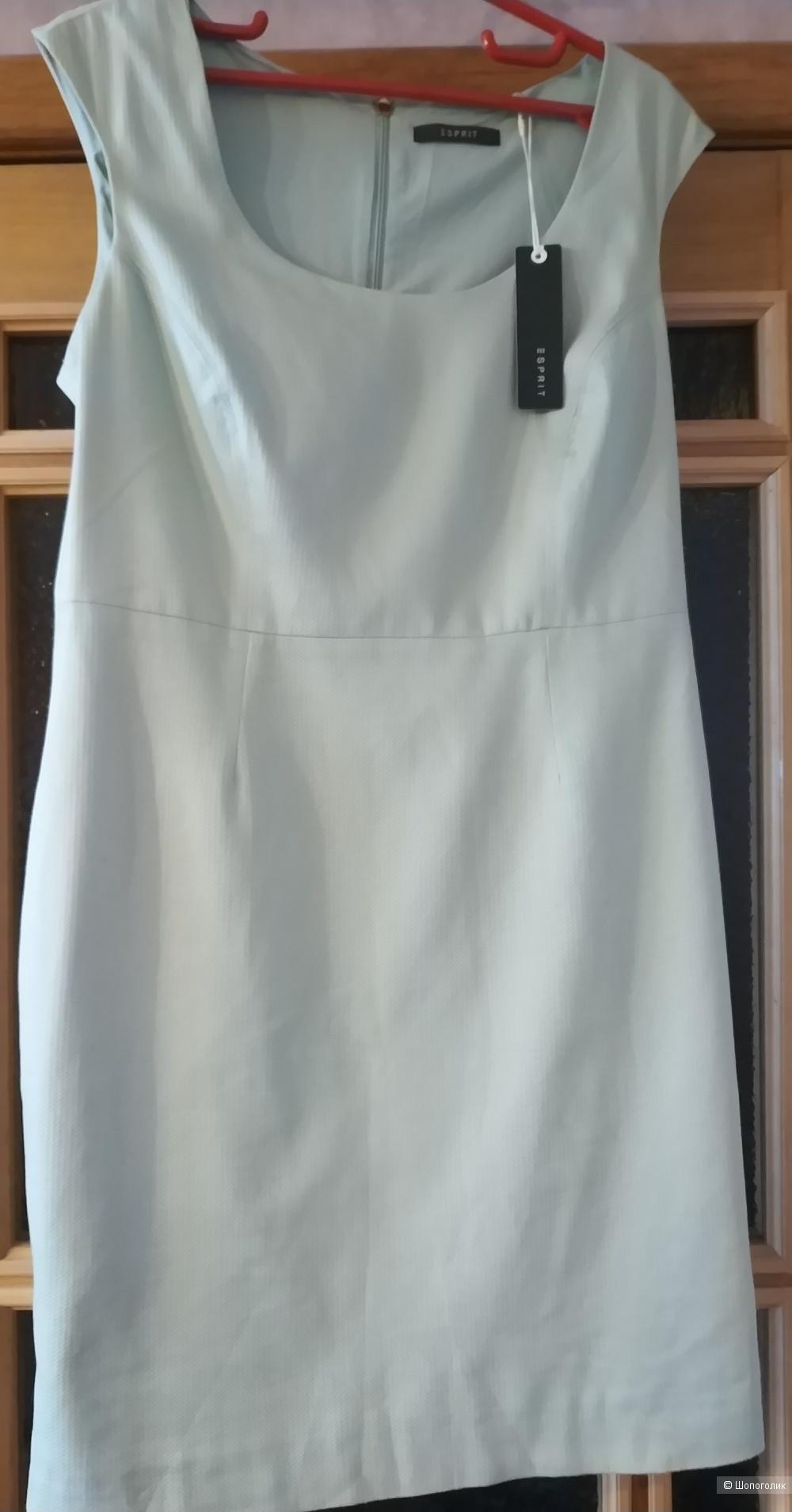 Платье Esprit размер 38 на наш 48 цвет фисташковый