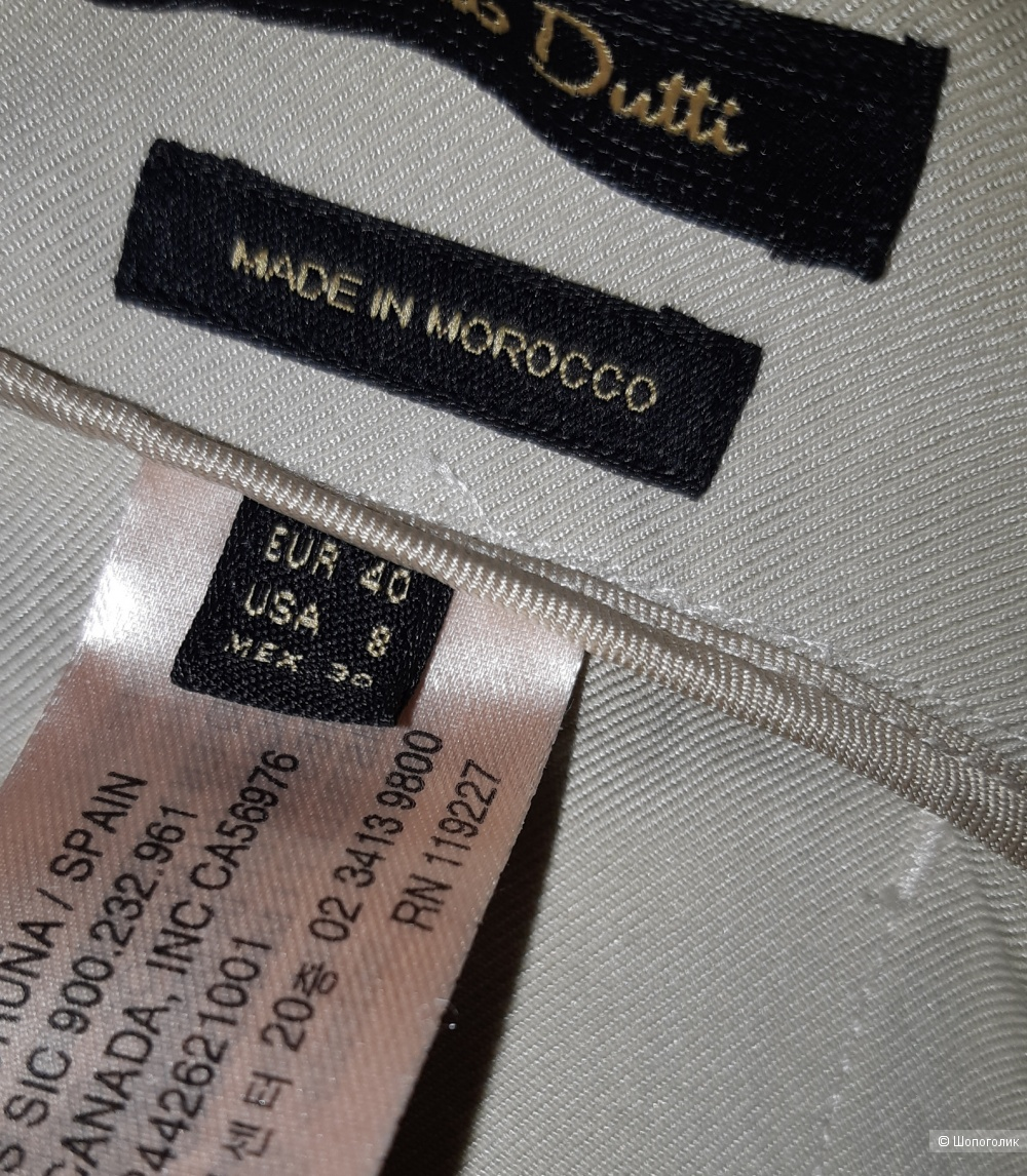 Новые брюки-кюлоты massimo dutti, размер 46