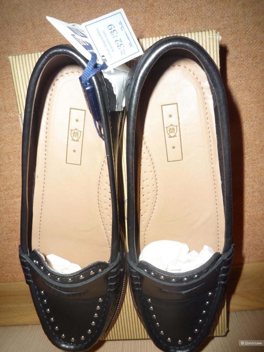 Туфли - лоферы Massimo Dutti 34 размер