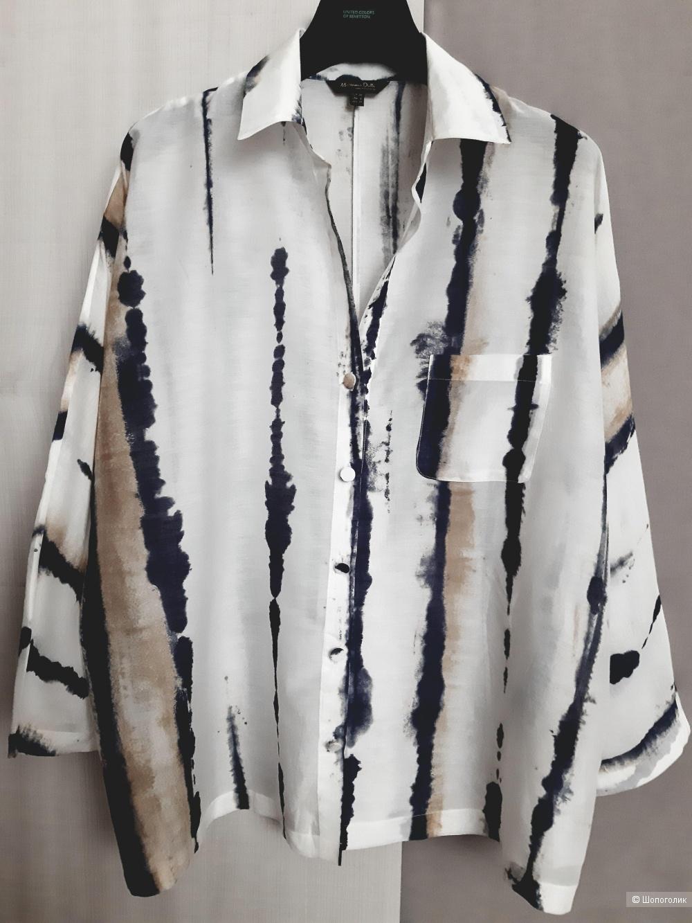 Рубашка  Massimo Dutti, размер 38