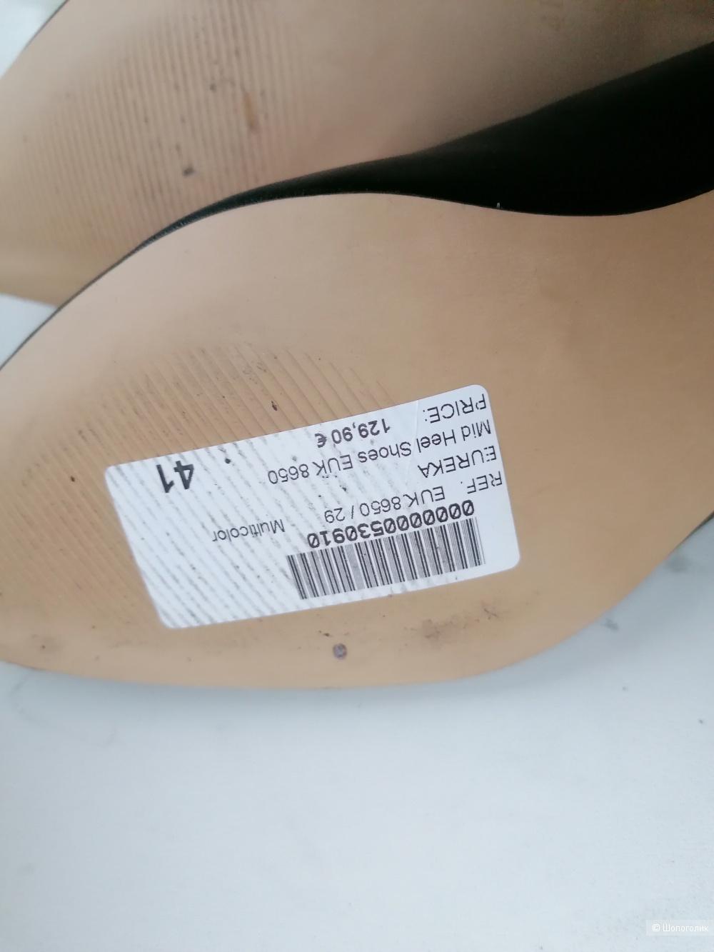Кожаные туфли Eureka размер 40