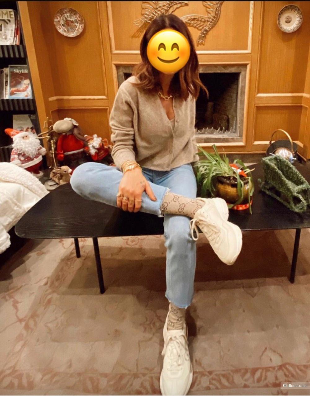 Двойка кардиган-топ Zara S