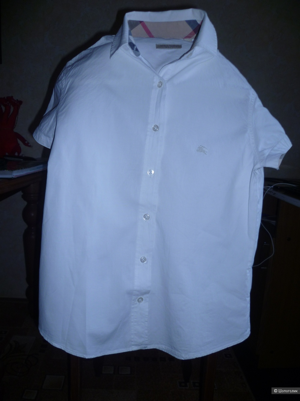 """Рубашка женская Burberry разм. """"М""""(46-48)"""