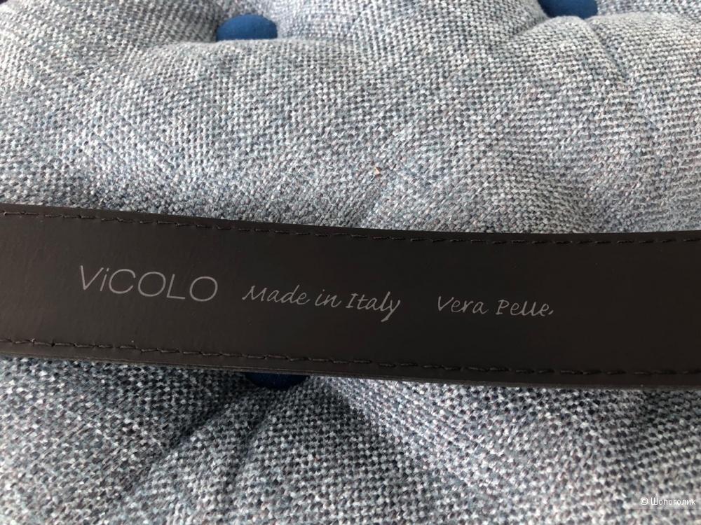 Ремень кожаный Vicolo