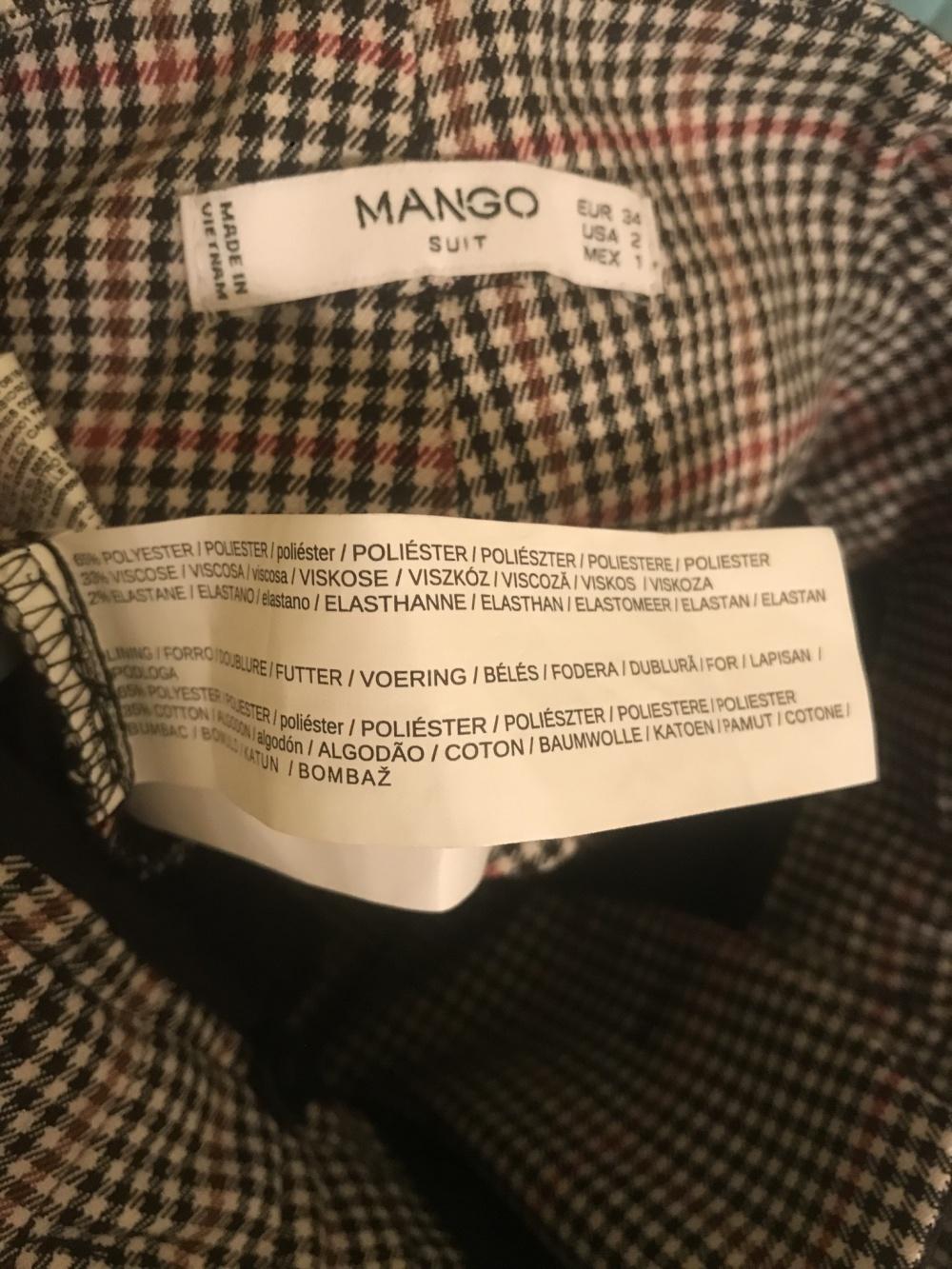 Брюки Mango, размер 34