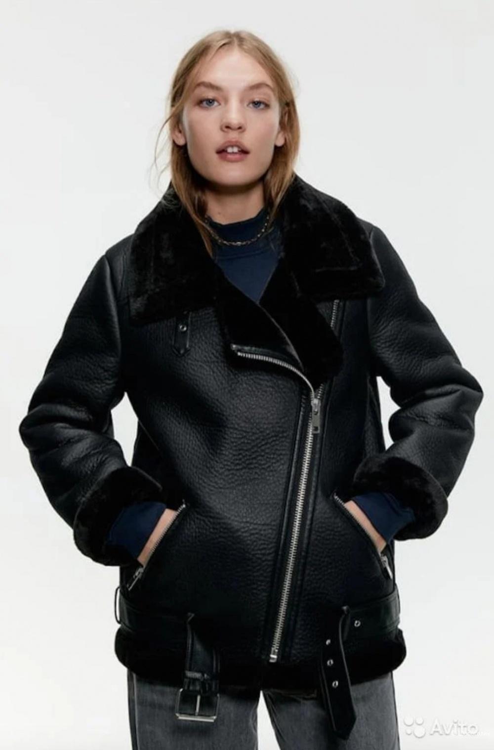 Зимняя куртка-косуха ZARA, размер 44-46
