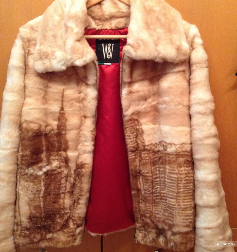 Меховая куртка Who is who, размер 46