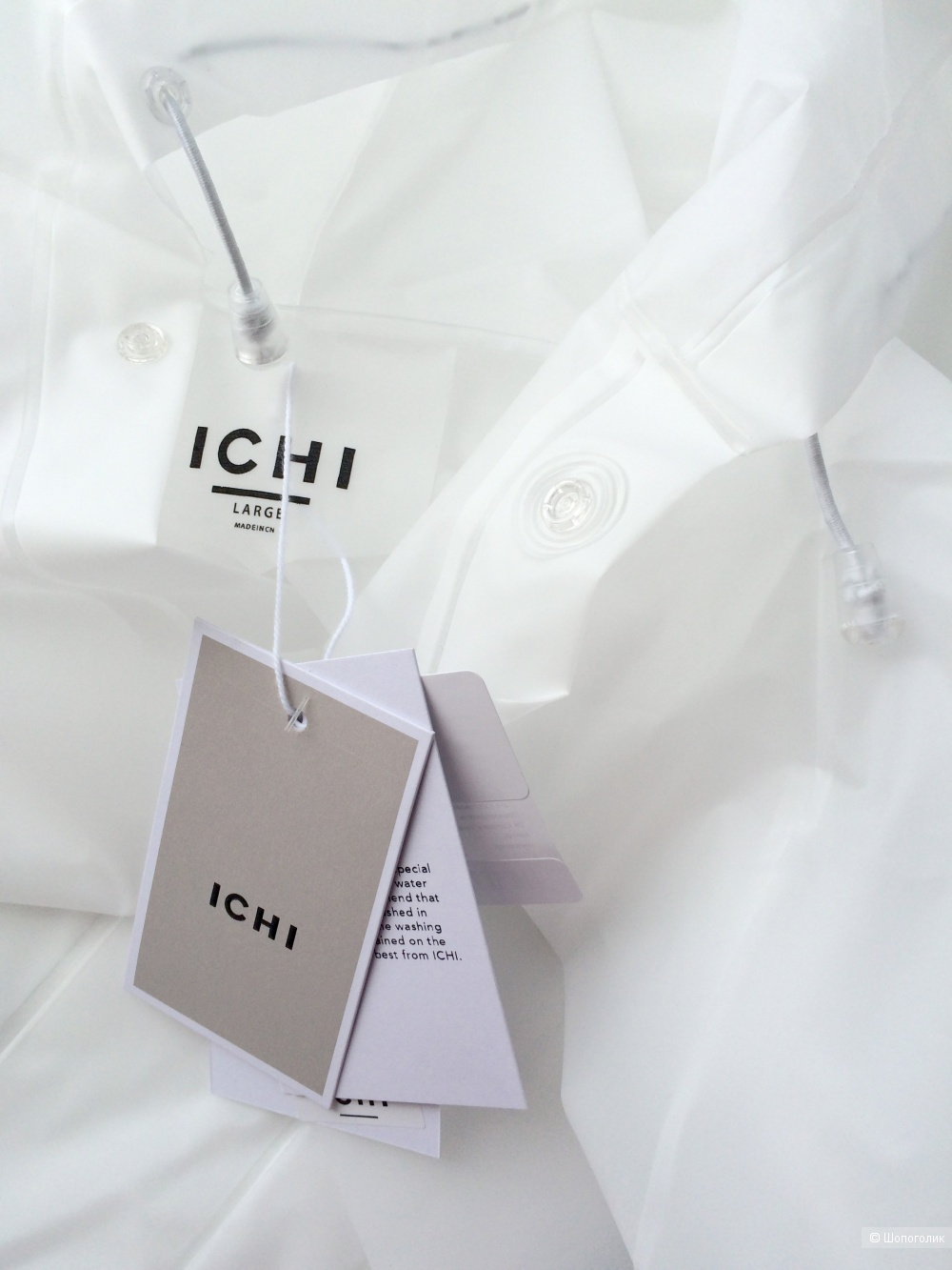 Плащ-дождевик ICHI размер M-L