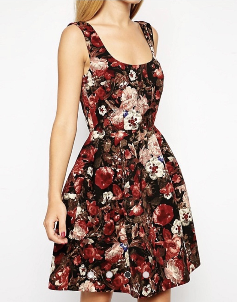 Платье ASOS, размер 8UK