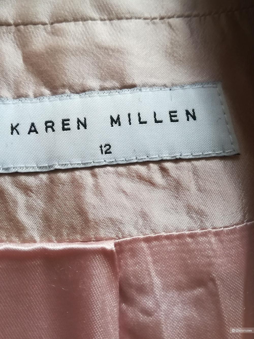 Шелковый костюм  Karen Millen, 44-46