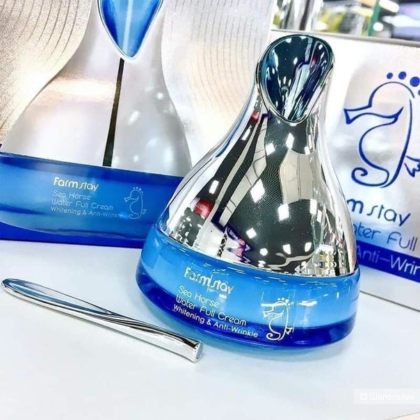 Антивозрастной крем с экстрактом морского конька FarmStay Sea Horse Water Full Cream