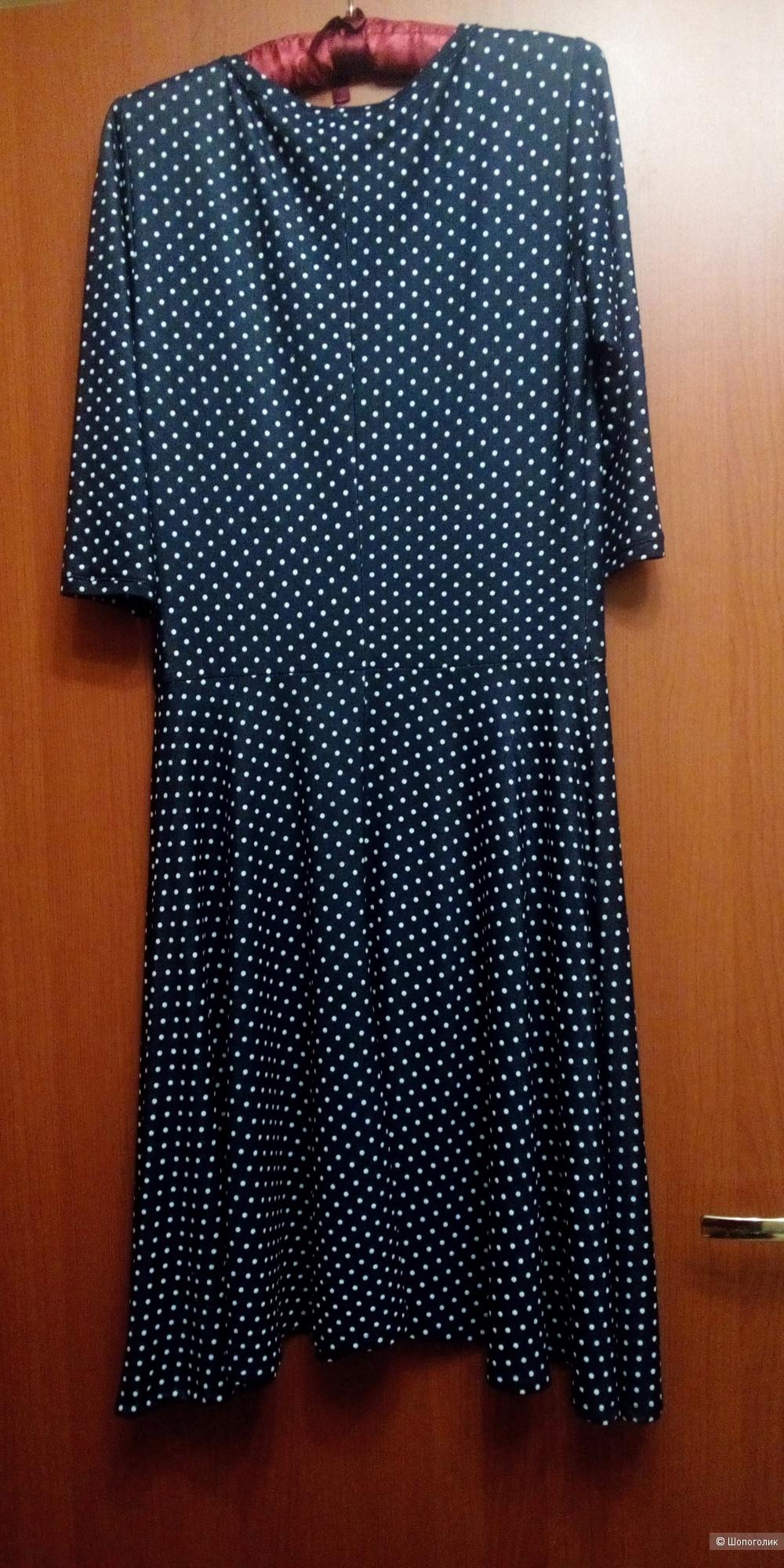 Платье Вишня р.48-50