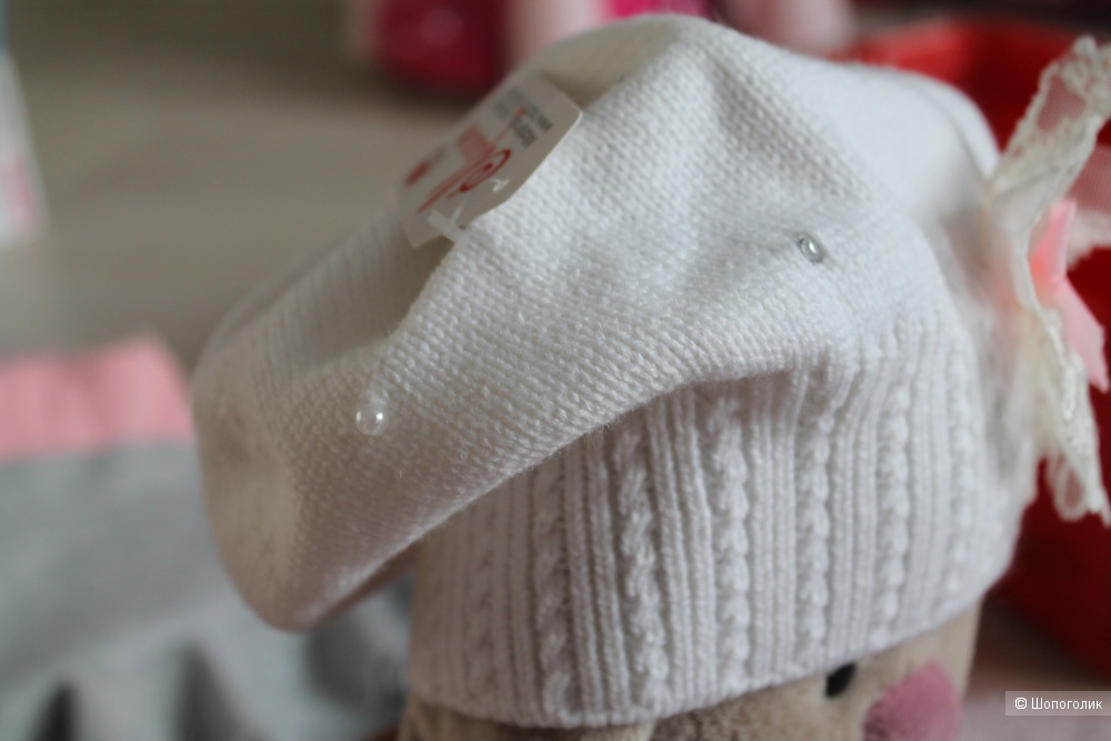 Комплект шапка+шарф р. 48-52