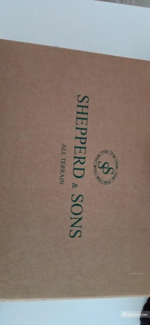 Мужские сапоги SHEPPERD & SONS ,размер 44