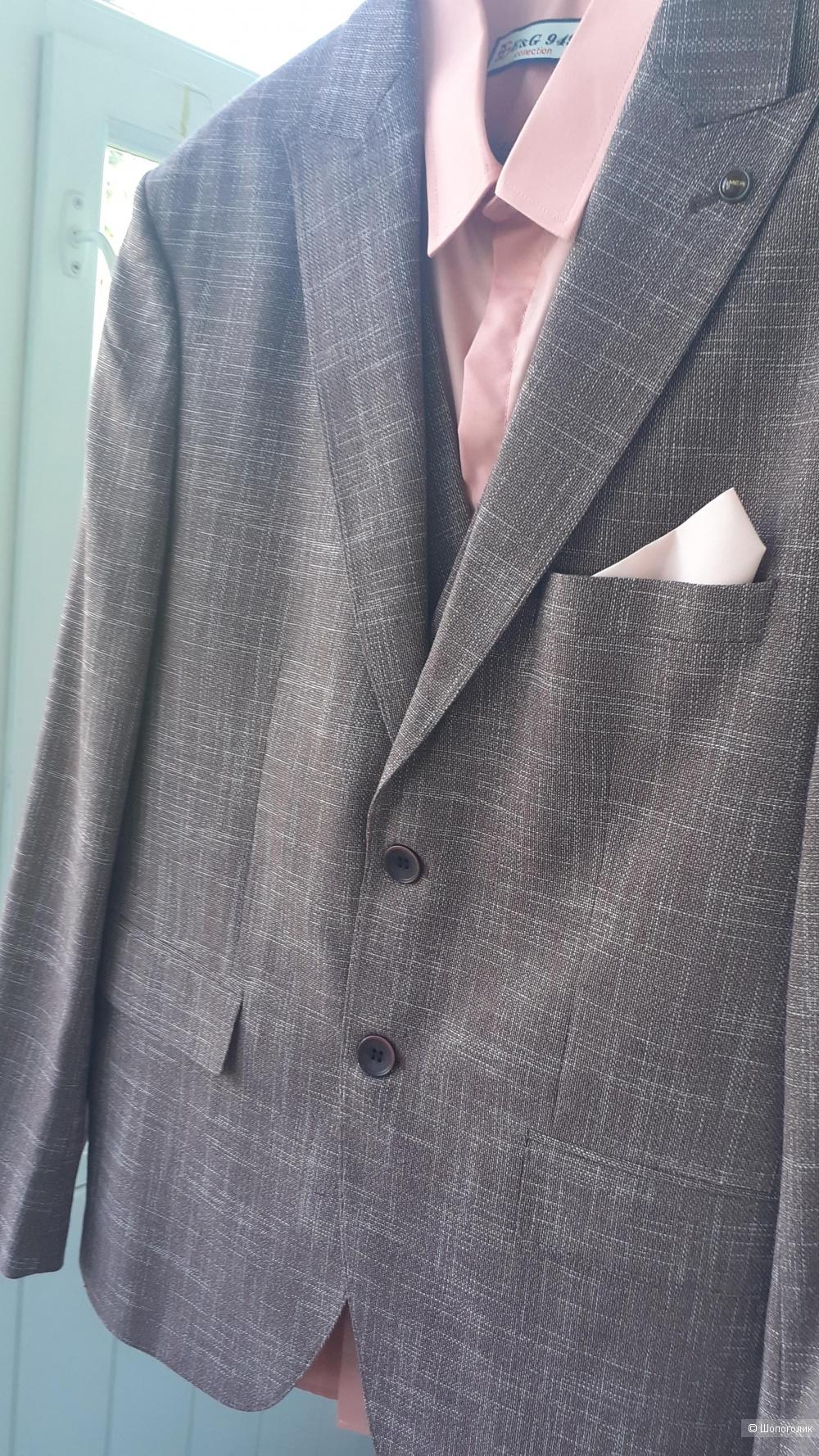 Костюм тройка+рубашка MCR 48-50