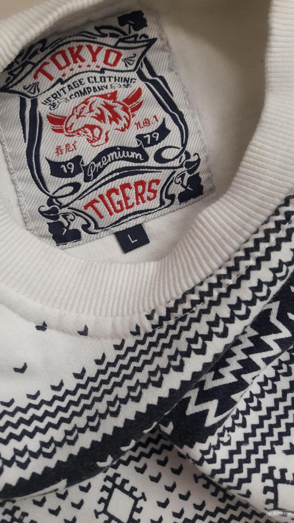 Толстовка Tokyo Tigers. размер M-L