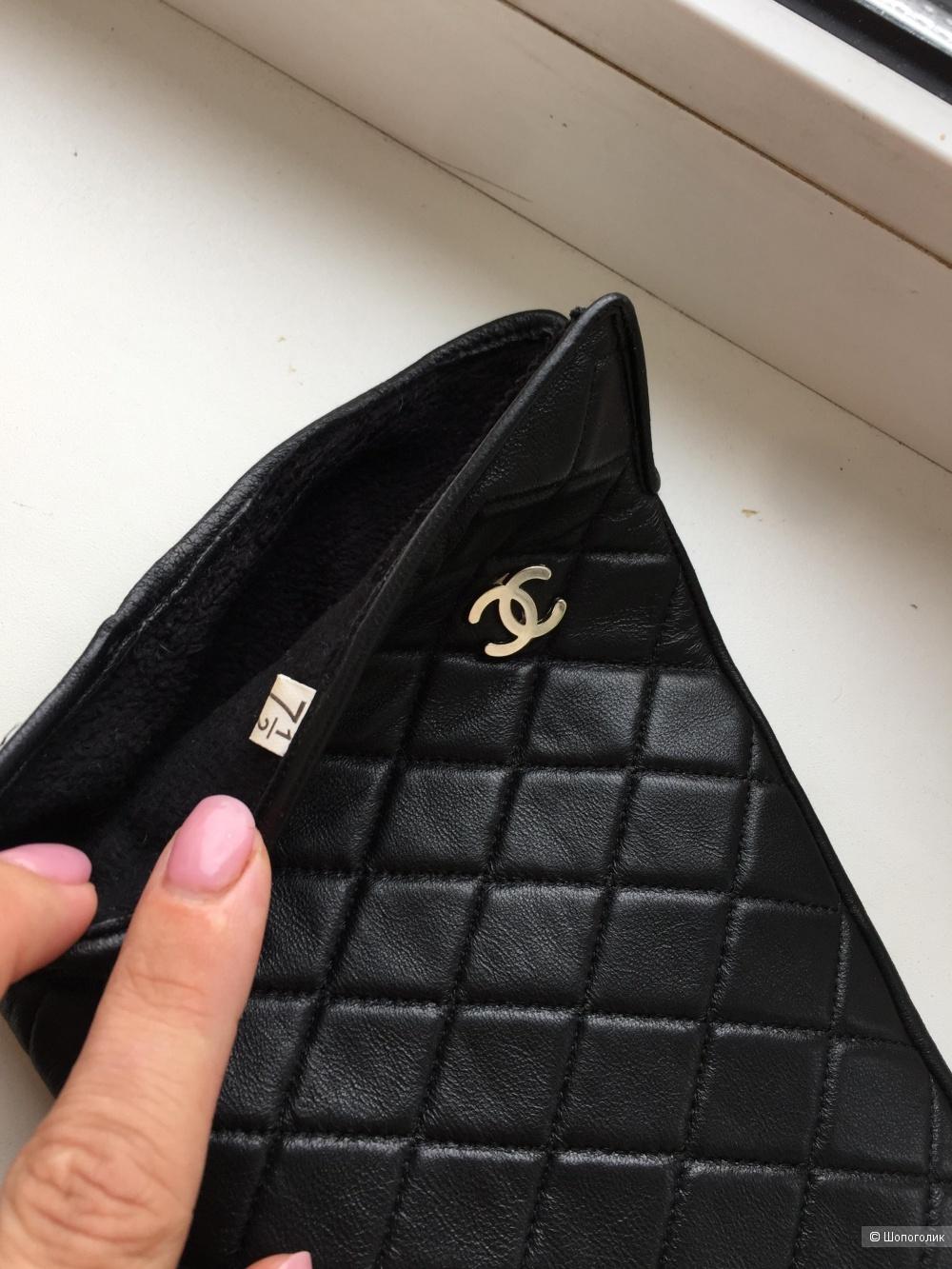 Перчатки Chanel р7,5