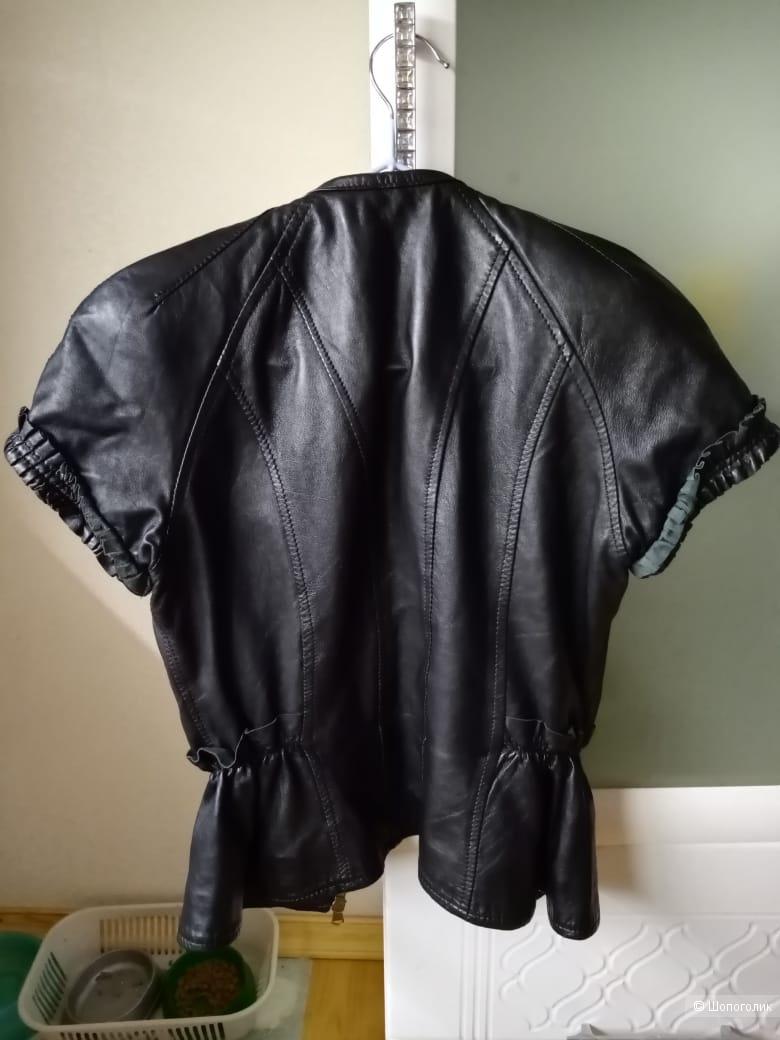 Куртка жакет кожа imperial S