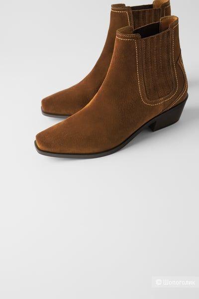 Ботинки казаки ZARA 37 размер