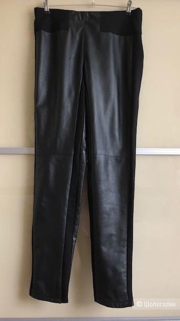 Кожаные брюки PATRIZIA PEPE на 46 размер