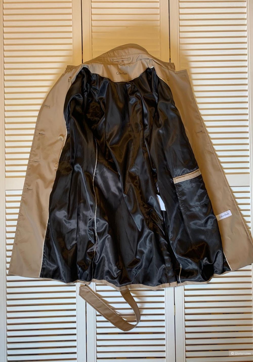 Тренч Calvin Klein р. XL, 48-50