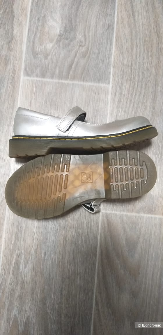 Туфли для девочки Dr. Martens Kid , размер 3US
