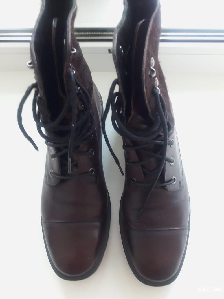 Ботинки со шнуровкой, Massimo Dutti, размер 40