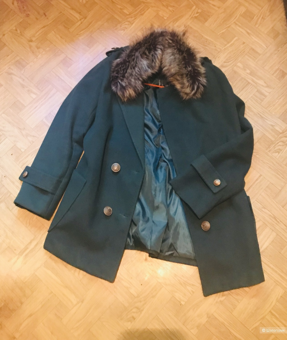 Пальто с пристяжным воротником No Name,44-46 рус