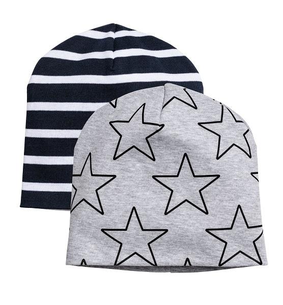 Набор шапочек H&M, размер 6-7 лет