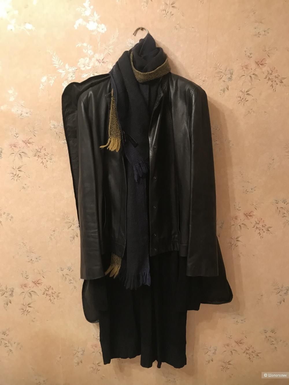 Комплект Massimo Dutti шарф и брелок,one size