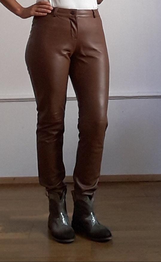 Кожаные брюки Ashley Brooks by Heine, 46 размер