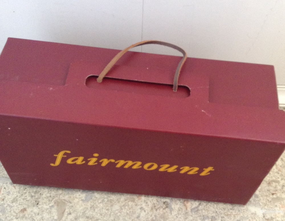 Мокасины  Fairmount, размер 39