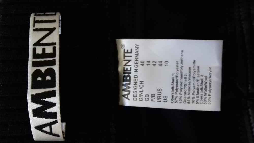 Брюки AMBIENTE, размер USA 10, GB 14 на 46-48 Rus