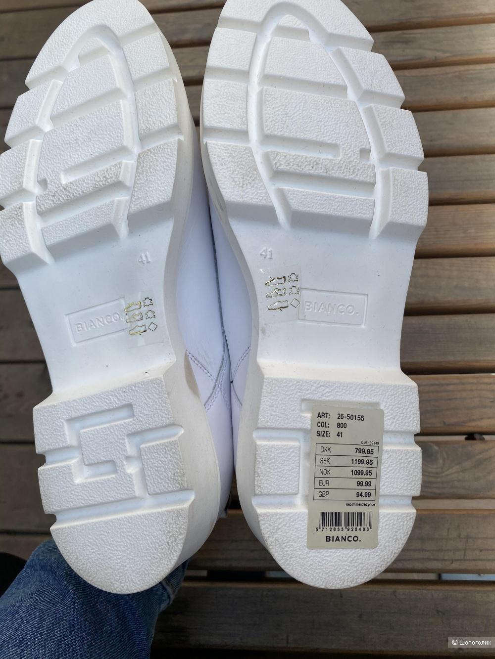 Кожаные ботинки Bianco, pp 41 27 cm