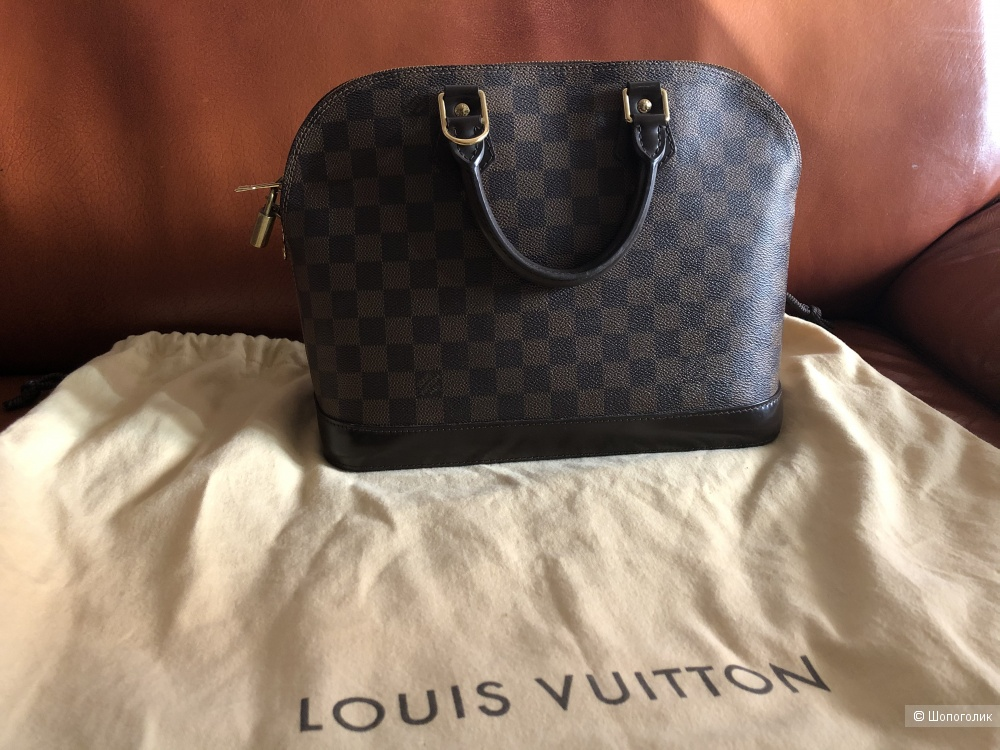 Сумка Louis Vuitton Alma Damier Ebene