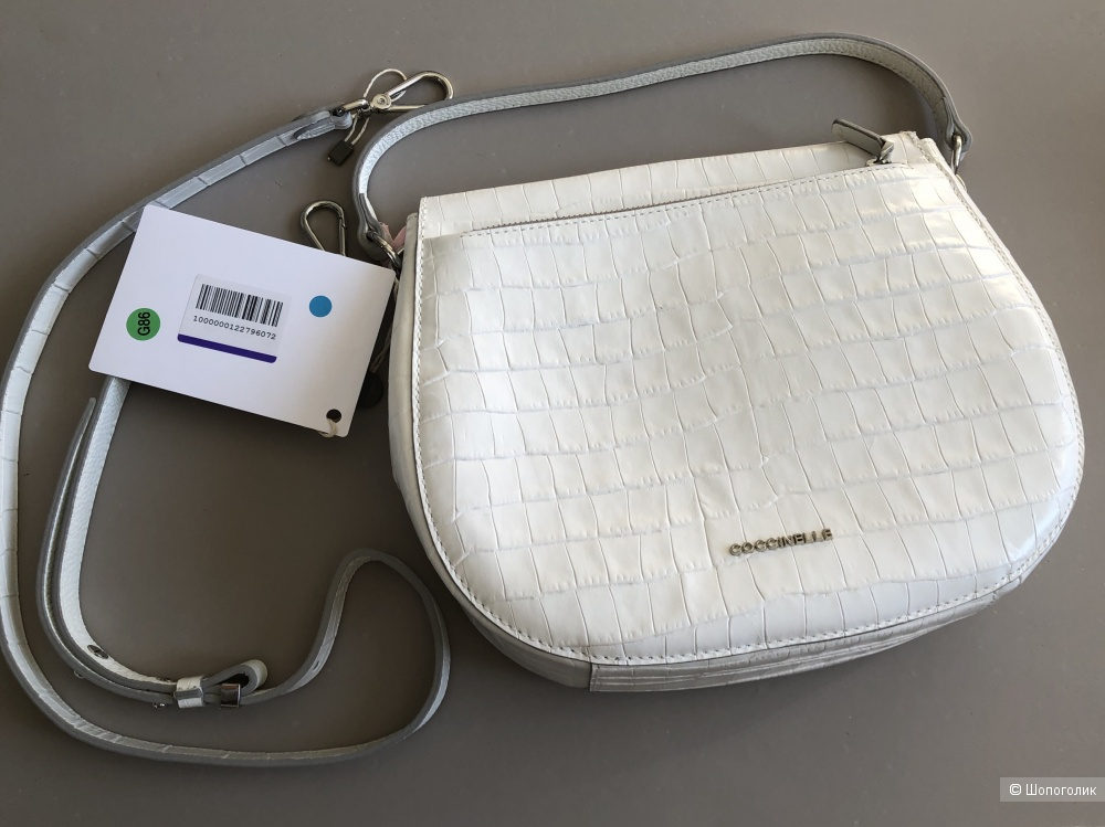 Белая сумка Coccinelle