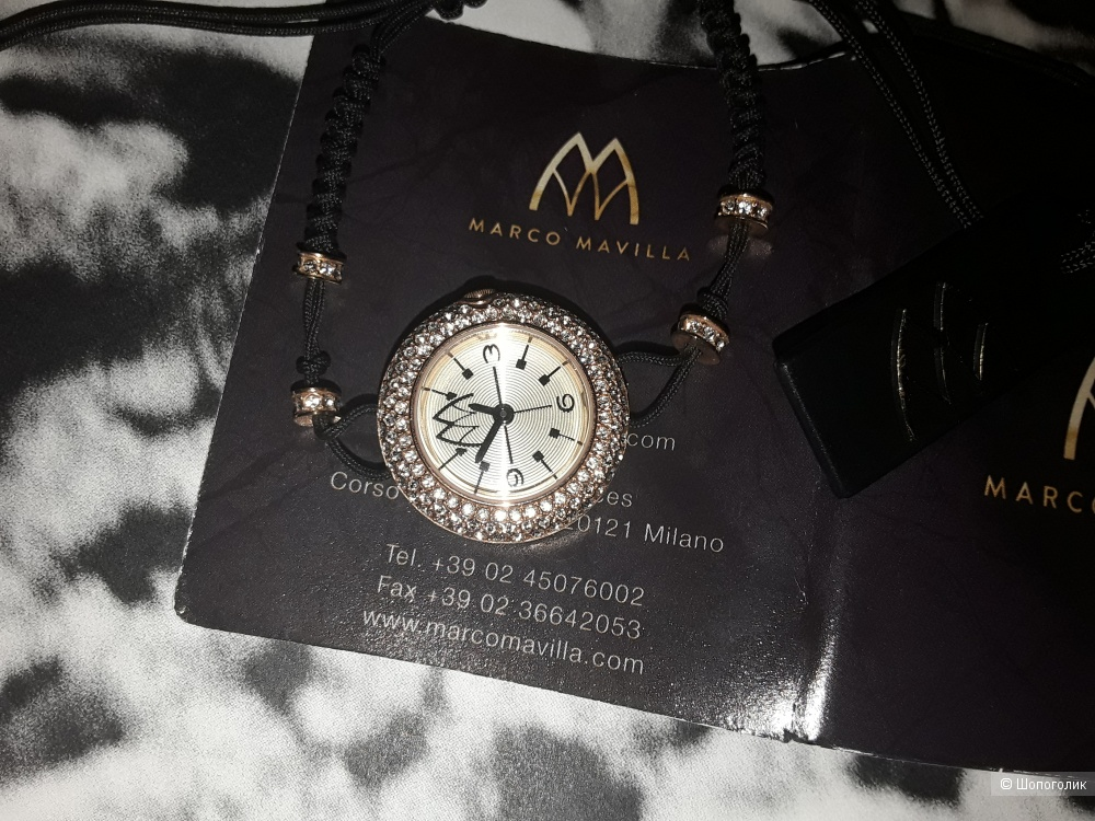 "Часы Marco Mavilla ""Pepito""."
