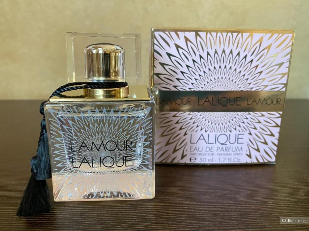 Парфюмерная вода L'AMOUR LALIQUE, 50 ml