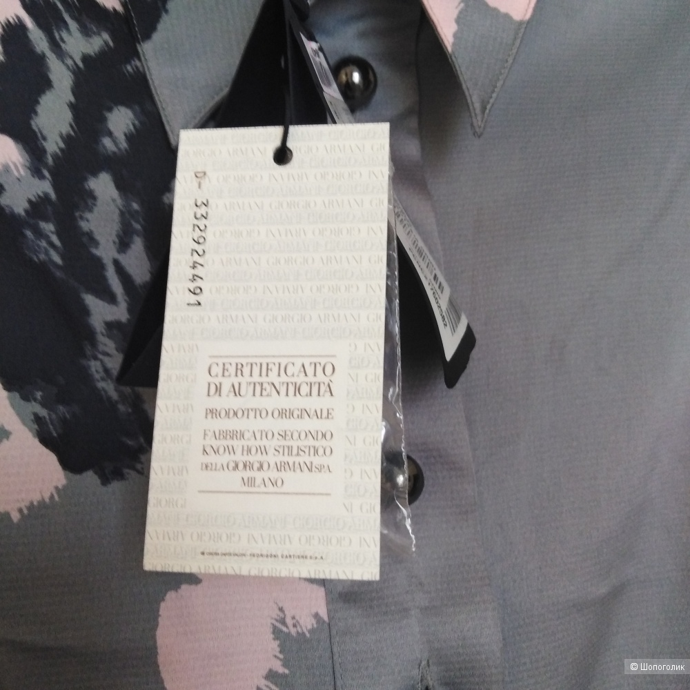Платье рубашка Armani jeans 48 р