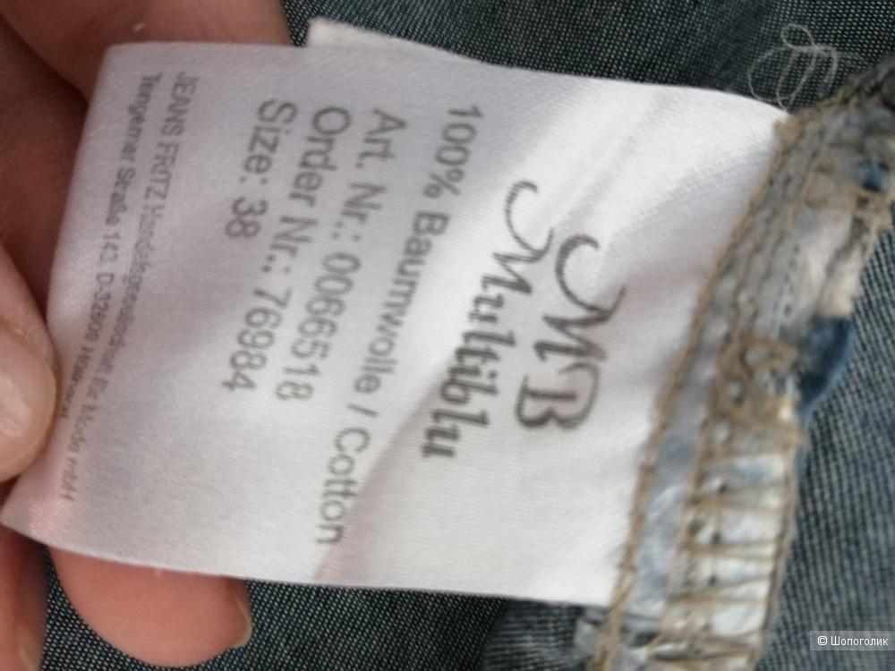 Джинсовая рубашка MB, размер S, M